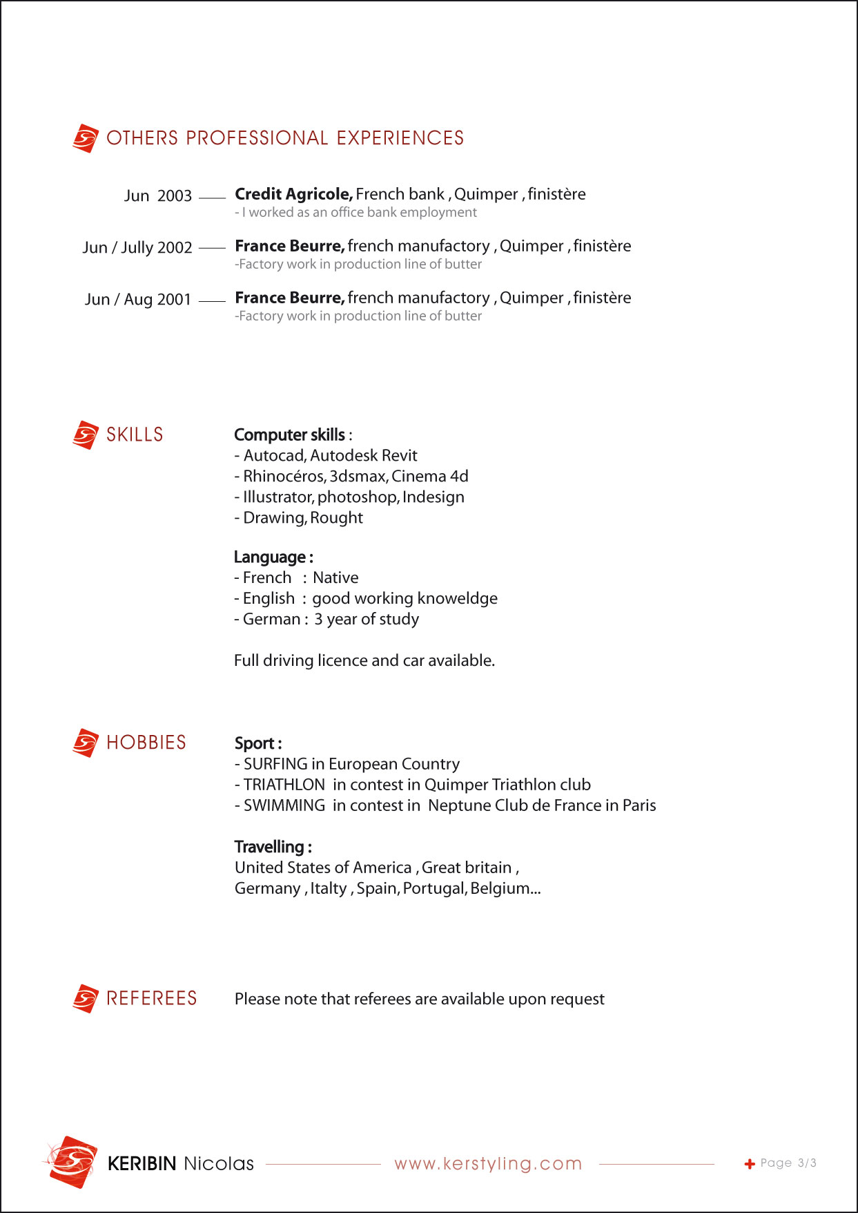 Sample resume interior design company profile for Sample interior designs